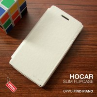 OPPO FIND PIANO R8113 HOCAR SLIM LEATHER FLIP CASING | SARUNG HP |