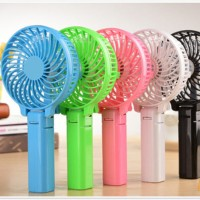 Kipas angin USB portable handy mini fan + Baterai + kabel usb