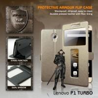 Lenovo Vibe P1 Turbo Window Leather Flip Casing | Sarung Hp | Case |