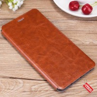 Xiaomi Redmi 3X Mofi Soft Leather Flip Casing | Sarung Hp | Case |