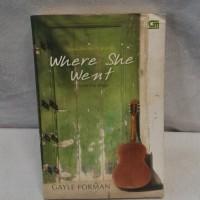 Novel Bekas Gayle Forman - Setelah Dia Pergi (Where She Went)