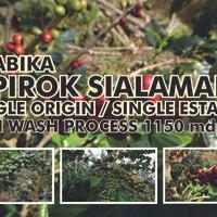 Jual Biji Kopi / Green Bean Arabika Sipirok dari Desa Sialaman Murah