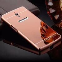 Premium MIRROR CASE Oppo find 7 7a x9006 neo 7 a33 casing hp back cov