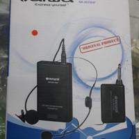 harga Aiwa Naiwa Na 801 Vhf Mic Mik Headset Bando Microphone Mikrofon Wirele Tokopedia.com