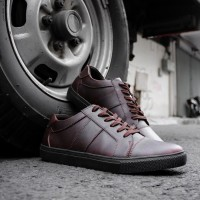 Sepatu Sneaker Casual SN-02 Brown - NAH Project x Sepatubox