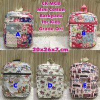 Cath Kids MCB - Mini Cotton Backpack For Kids Grade Ori