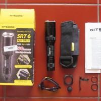 NITECORE SRT6 Senter LED CREE XM-L (XM-L2 T6) 930 Lumen Diskon