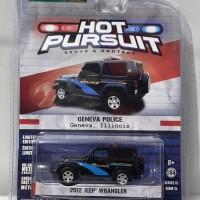 $10225||Greenlight 2012 Jeep Wrangler||Hot Pursuit Geneva Police
