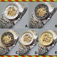Jam Tangan Pria / Cowok Rolex Submariner 02 Rantai