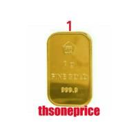 Jual 1 Gram Emas ANTAM | logam mulia | BERSERTIFIKAT | FINE GOLD 999,9%| Murah