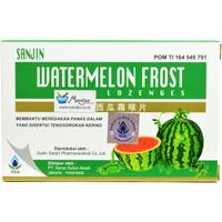 Sanjin Watermelon Frost Lozenges
