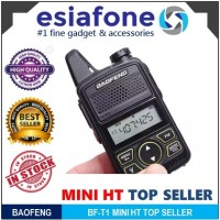 BAOFENG BF-T1 Mini Walkie Talkie - Radio HT Original Taffware Alt 888s