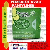Avail PantyLiner Pembalut Hijau - FC PantyLiner Feminime Comfort