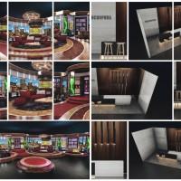 jasa desain render 3d stage booth interior arsitektur event tv program