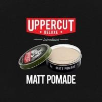 Uppercut Deluxe Matt Pomade Matte Medium Hold Waterbased (ORIGINAL)