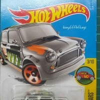 Hot Wheels : Morris Mini Hotwheels Austin Cooper US ZAMAC