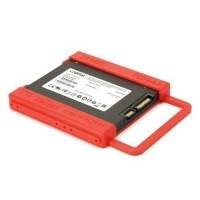 TQ Design 2.5 Inch to 3.5 Inch HDD Enclosure - Red