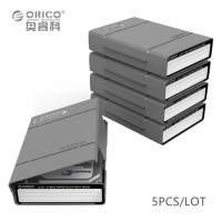 Orico 1-Bay 3.5 HDD Protection Case 5PCS - PHP-5S - Gray