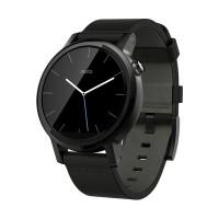 harga Moto 360 2ndgen Leather Smartwatch - Black [42mm] Garansi Resmi Tokopedia.com