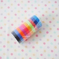 harga I 10 Warna Paper / Decorative / Masking / Washi Tape - Selotip Kertas Tokopedia.com