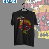 Gildan Custom Graphic Tshirt / Kaos  Superhero I AM THE NIGHT