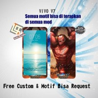 Garskin HP VIVO V7 motif Mobile Legend 8 - motif bisa request