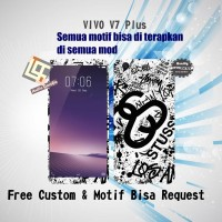 Garskin HP VIVO V7 PLUS motif Doodle2 - motif bisa request