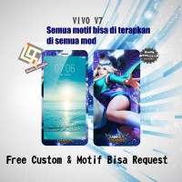 Garskin HP VIVO V7 motif Mobile Legend 5 - motif bisa request
