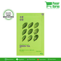 harga Holika Holika - Pure Essence Mask Sheet Greentea Tokopedia.com