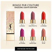 YSL rouge pur couture dazzling lights limited edition #19