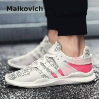 harga Sepatu Malkovich Flats Solid Men Breathable Shoes Man Tokopedia.com