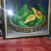 harga Lukisan Buah Alpukat + Bingkai Tokopedia.com