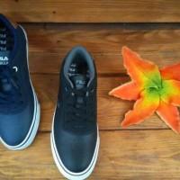 sepatu Pria FILA MELBOURNE hitam/navy