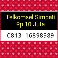 harga Nomor Cantik(0813 16898989)tsel Simpati,terupdate#y Tokopedia.com