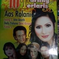 VCD ASLI lagu dangdut Tarling 10 terlaris Aas Rolani