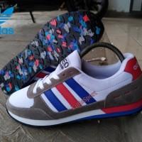 adidas neo impor/adidas la trainer/adidas full putih/adidas putih