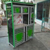 Vin living Rak Piring Super 2P Aluminium Keramik -  Harga Murah