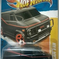 Hot Wheels A Team Van - Akta