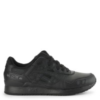 harga Sepatu Original Asics Tiger Gel-lyte Iii - Triple Black Tokopedia.com