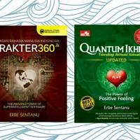 Buku Quantum Ikhlas Updated + CD & Karakter 360 By Erbe Sentanu