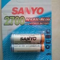 baterai batere cas / rechargeable battery AA NiMH Sanyo 2700mah
