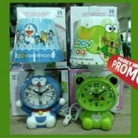 harga (promo) Jam Meja + Lampu Tidur Tudung Doraemon Keroppi Tokopedia.com