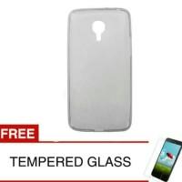 Case For Meizu Mx4 Pro-abu Abu +gratis Tempered Glass Ultra Thin Softc
