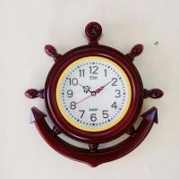 Jam Dinding SWEEP ESA 420 30cm model jangkar kemudi kapal