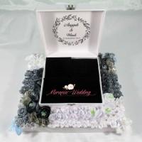 Kotak Perhiasan / Cincin / Gelang / Kalung / Uang / Logam Mulia