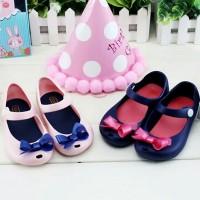harga Jelly Shoes Bow / Replika Minimelissa Sweet Bow / Sepatu Anak Import Tokopedia.com
