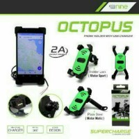 harga Holder Motor Octopus + Usb Charger Tokopedia.com
