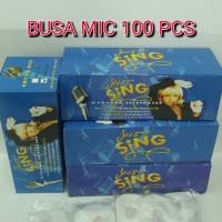 harga Busa Mic 100pcs (50 Pasang) Tokopedia.com