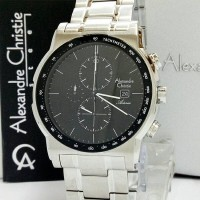 harga Jam Tangan Pria Alexandre Christie Ac 6470mc-sv Original Tokopedia.com