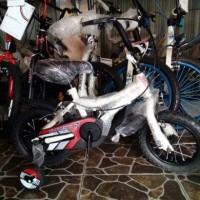 Sepeda Anak 12 Bmx Polygon Bad Badtz-Maru Putih